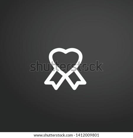 Badge vector icon. Badge concept stroke symbol design. Thin graphic elements vector illustration, outline pattern for your web site design, logo, UI. EPS 10.
