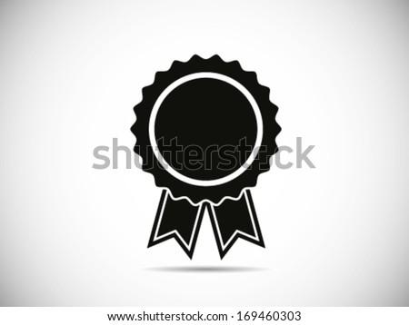 Badge With Ribbons ストックフォト ©