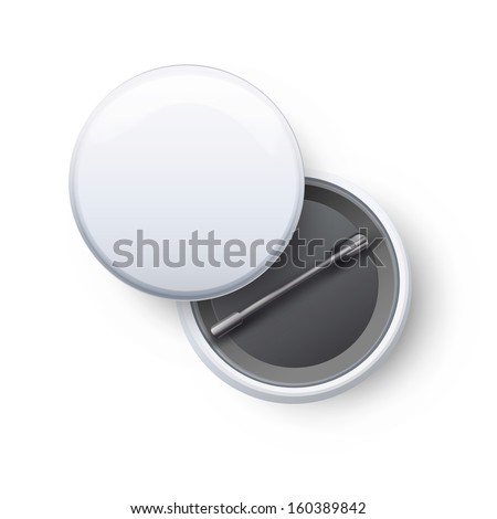 Badges on white background. Vector design.