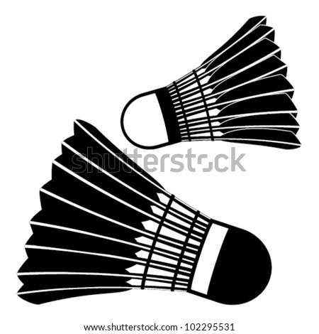 badminton balls clip-art