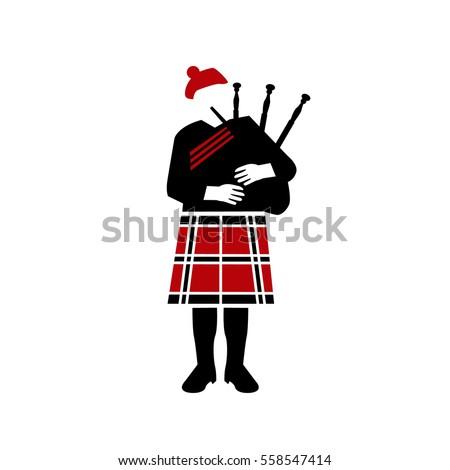 Bagpiper Scotland Сток-фото ©