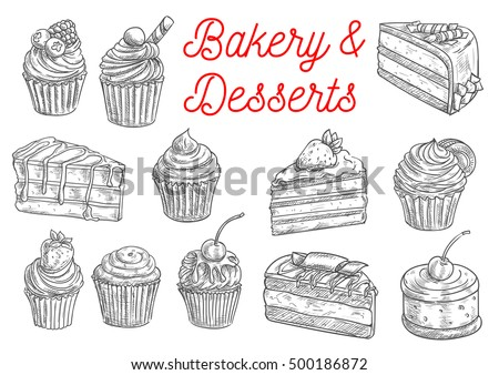 bakery and pastry desserts