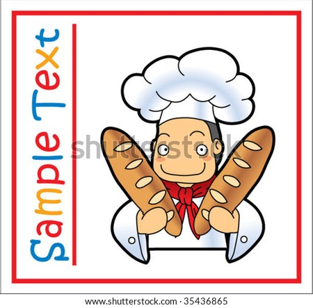 Bakery Clipart Bakery Chef Clipart Icon