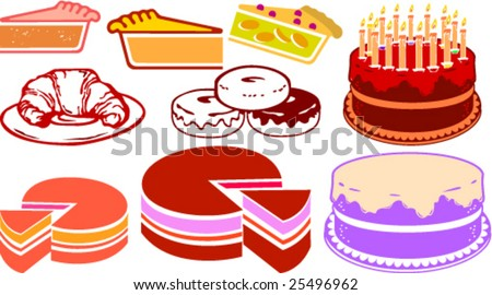 Free Clip Art Bakery Goods Bakery Clip Art Stock Vector