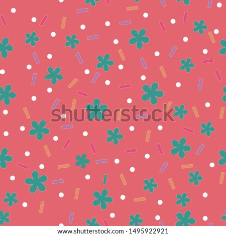 Bakery, confectionery, cooking ingredients. Pattern