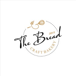 Bakery Logo Simple Homemade Badge Template. Organic Bread Shop Vector and Label Design Inspiration