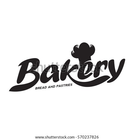 Bakery logo templates. Baker, grain, bread, cooking board. Vintage style bakery badges and labels. Black and white logo templates for your design. Vector illustration isolated on white background.
