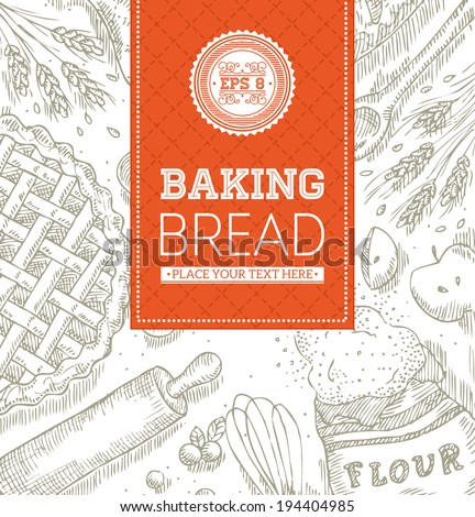 baking bread template