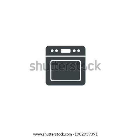 Baking, cooking, equipment, kitchen tools, oven icon. Oven icon vector isolated on white background. appliance, cooking, kitchen, microwave, oven icon