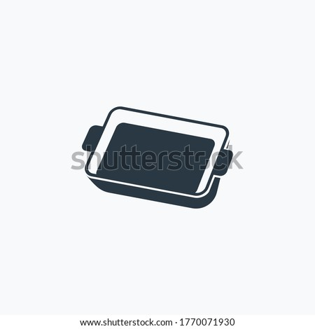 Baking sheet icon isolated on clean background. Baking sheet icon concept drawing icon in modern style. Vector illustration for your web mobile logo app UI design. Foto d'archivio ©
