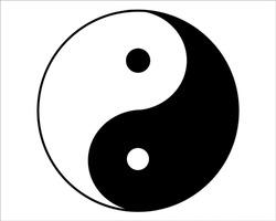 balance yin-yang symbolic yang zen buddhism