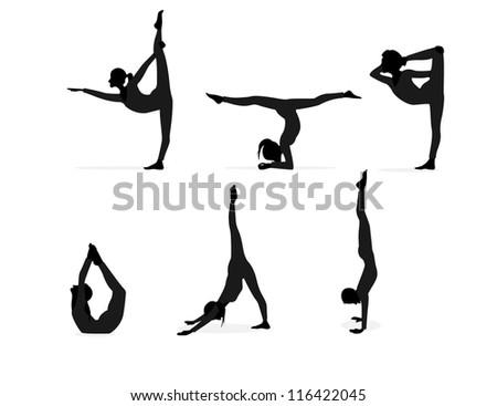 Balance yoga posture