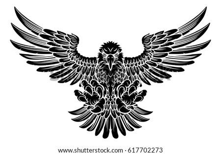 Golden Eagle Logo Vectors Download Free Vector Art Stock Graphics