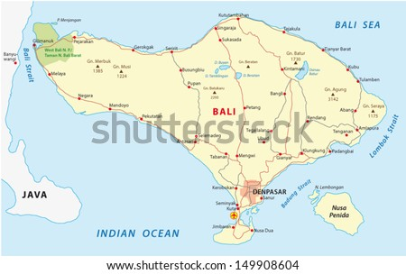 Vector bali map download free vector art stock graphics images bali map gumiabroncs Gallery