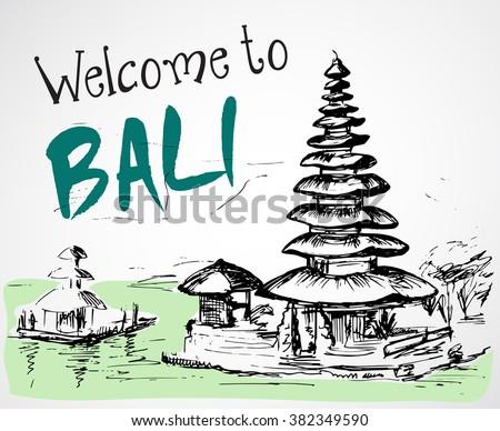 Indonesia balinés cultural barong máscara - Descargue Gráficos y ...