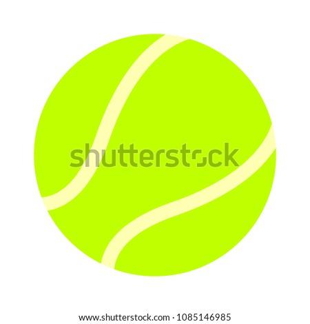 ball tennis white sport design icon vector illustration - play game sport