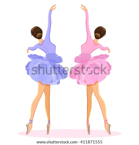 ballerina dancing on pointe