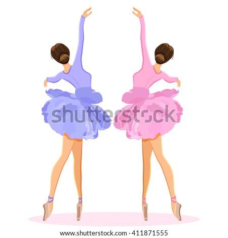 ballerina dancing on pointe