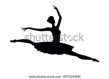 Free Ballerina Clipart Black And White, Download Free Clip Art, Free Clip  Art on Clipart Library