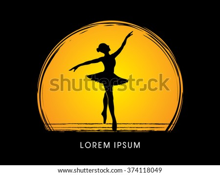 ballet dance designed using