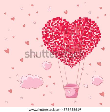 Balloon Heart #575958619