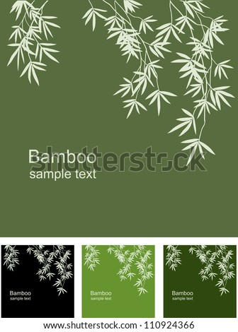 bamboo floral background