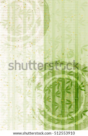 stock-vector-bamboo-new-year-s-japanese-paper-background