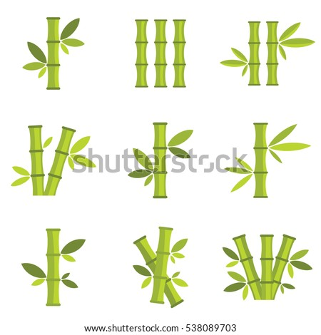 Royalty Free Bamboo Vector Icon   36.3KB