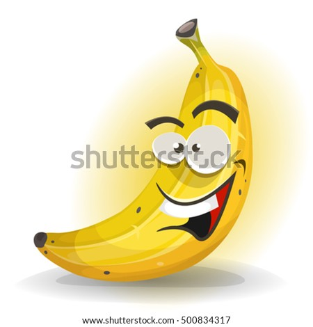 banana fruit character
