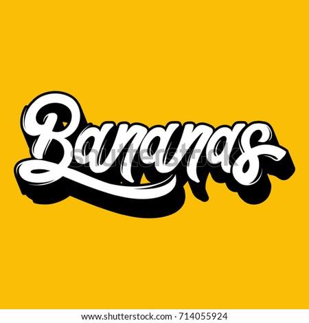 bananas vector quote