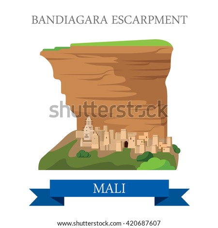 bandiagara escarpment in mali