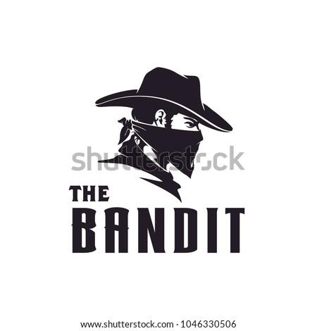 bandit cowboy illustration
