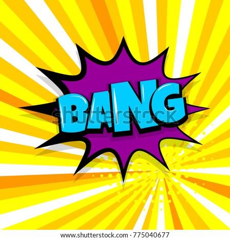 bang boom  gun comic text
