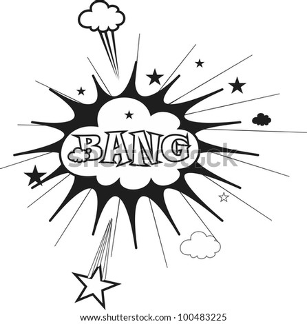Bang cartoon