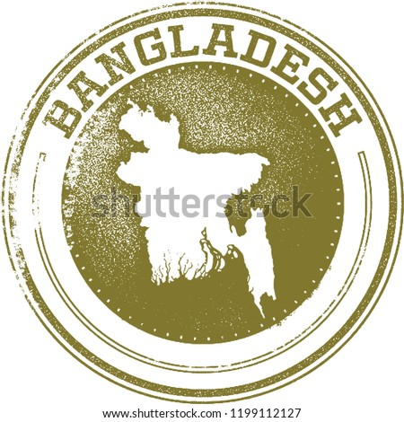 Bangladesh Country Stamp