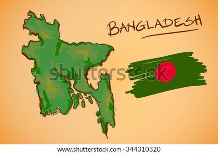 Bangladesh map and flag vector set download free vector art stock bangladesh map and national flag vector gumiabroncs Choice Image