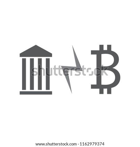 bank and bitcoin crysis