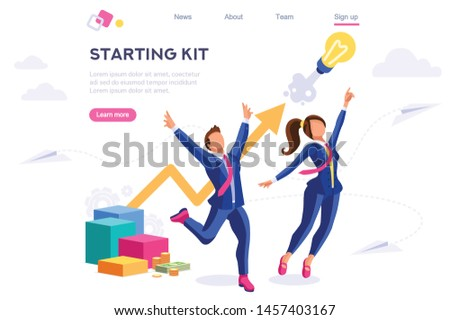 Bank Center Success Analytics. Colored Aircraft as Business Over Creative Capital Group. Concept for Web Banner Infographic Hero Images. Flat Isometric Vector Illustration Isolated on White Background