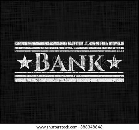 Bank chalk emblem
