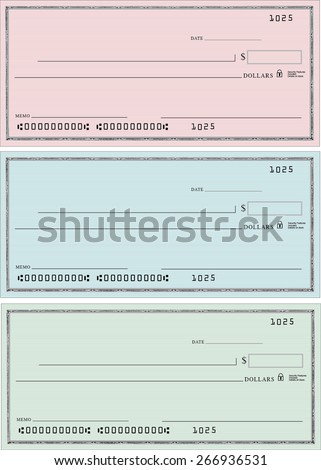 Bank Checks, layered type and backgrounds. Pin Stripe background. Need a Giant Check printed out for an event?