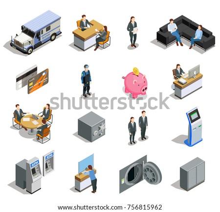 bank isometric elements
