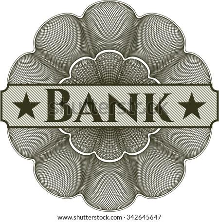Bank money style rosette