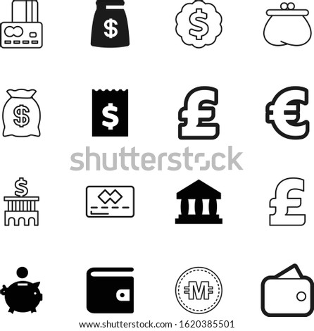 bank vector icon set such as: store, virtual, trade, commercial, shop, style, bill, light, internet, identity, crypto, billing, web, euro, blue, museum, emblem, nobody, atm, customer, pictograms
