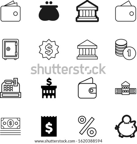 bank vector icon set such as: supermarket, machine, win, password, chips, discount, account, businessman, metal, protection, invoice, clinic, blue, number, light, city, percent, nobody, percentage