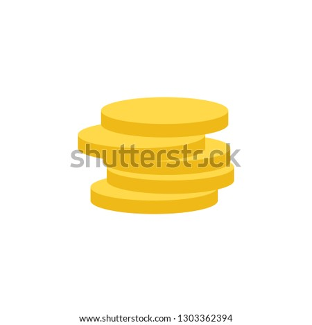 Banking, coins icon. Element of Web Money and Banking icon for mobile concept and web apps. Detailed Banking, coins icon can be used for web and mobile