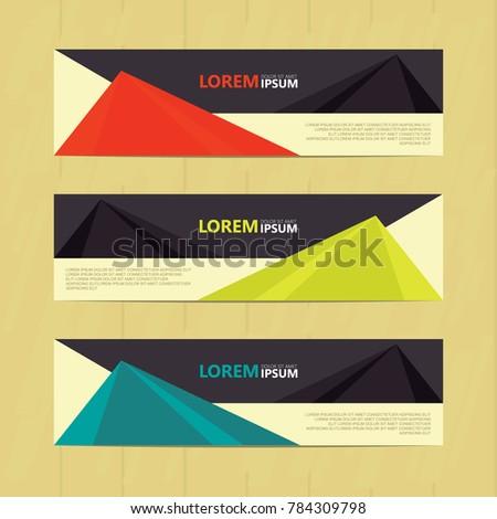 Banner background.modern template design #784309798