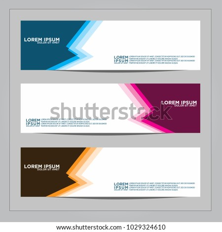 Banner background.Modern vector design #1029324610