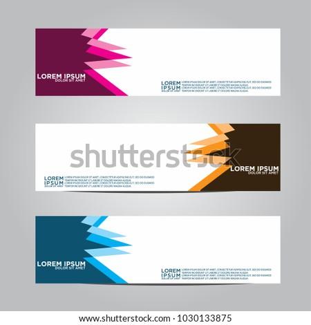 Banner background.Modern vector design #1030133875