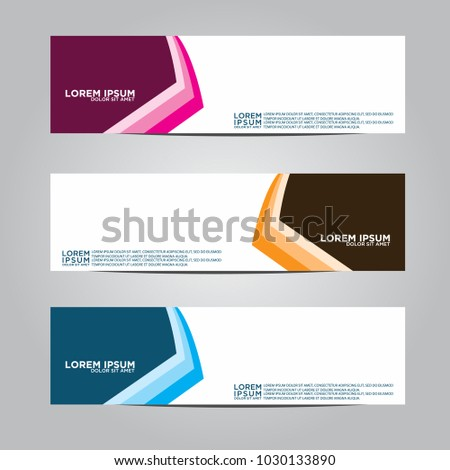 Banner background.Modern vector design #1030133890