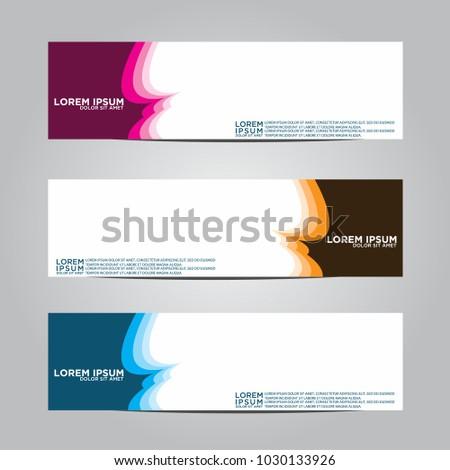 Banner background.Modern vector design #1030133926